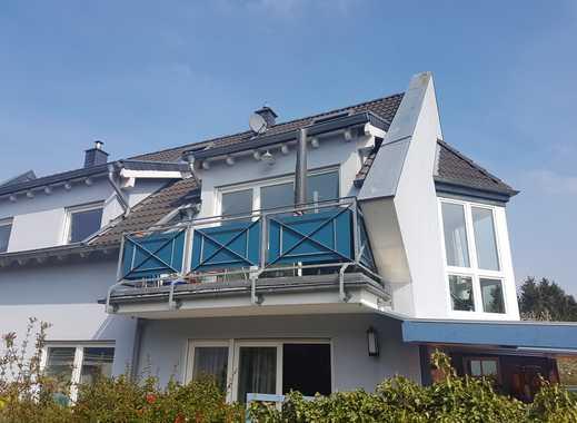 Zündorf, Groov-Nähe: Helle, ruhige Maisonette (3 Zimmer) mit Balkon