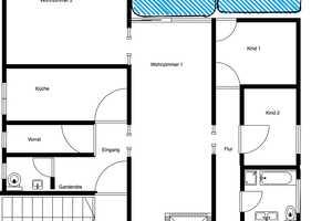 5 Zimmer Wohnung in Odenwaldkreis