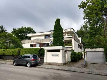 Provisionsfrei: Exklusive 1-Zimmer-Wohnung in Harlaching / Menterschwaige direkt am Isarhochufer in Harlaching (München)
