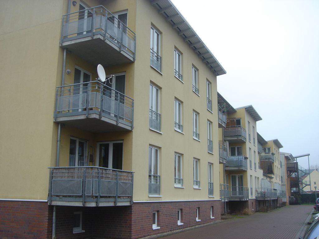 Rückansicht m. Balkonen