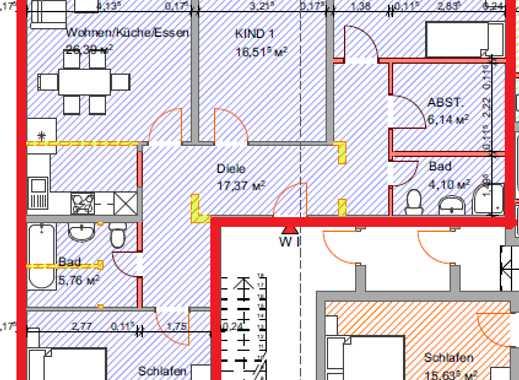 Frisch renovierte 3 ZKB provisionsfrei zu vermieten