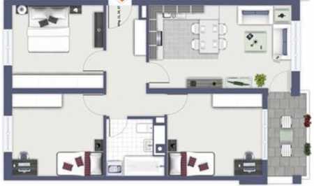 Helle 4 Zimmer Wohnung in ruhiger und grüner Lage  in Starnberg (Starnberg)