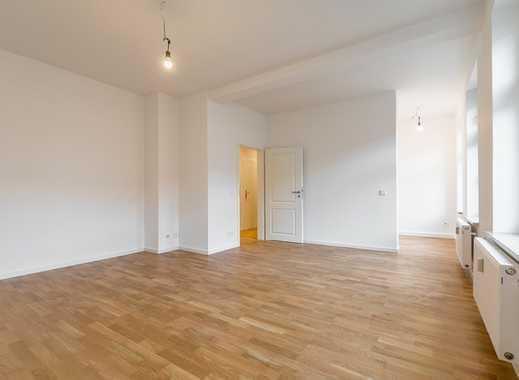 Frisch renoviert & provisionsfrei: Helle 1-Zimmer-Wohnung mit halboffener Küche