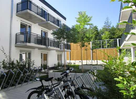 Neubau direkt an der S-Bahn * verschiedene möblierte Wohnungen * mit EBK und Parkett * Balkon*