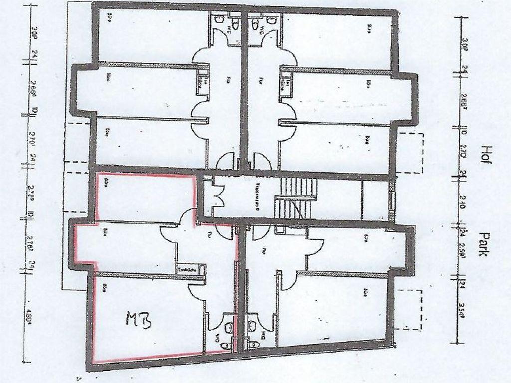 181212 Grundriss Büro Bernau
