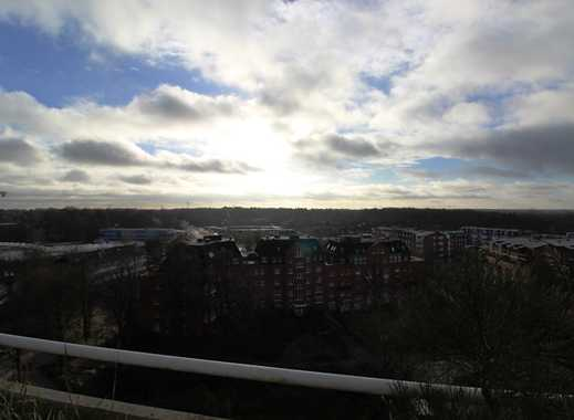 3 Zi. Whg. dir. am AEZ mit herrlichem Blick über Hamburg, EBK, BLK, Tiefgarage
