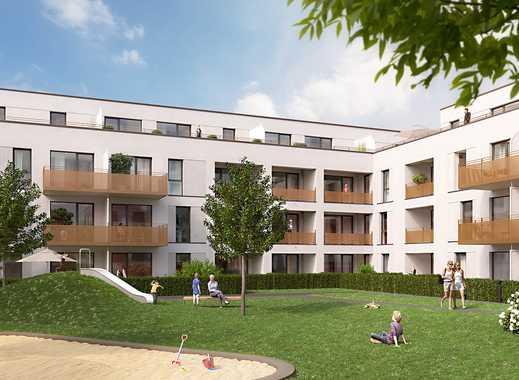 PANDION VILLE - Gut geschnittene 4-Zimmer-Wohnung mit zwei Bädern und Süd-Balkon