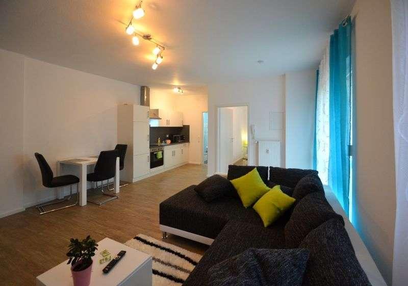 ab sofort vollausgestattetes, moderne & möblierte Wohnung - ohne Kaution, Courtage oder Renovierung in