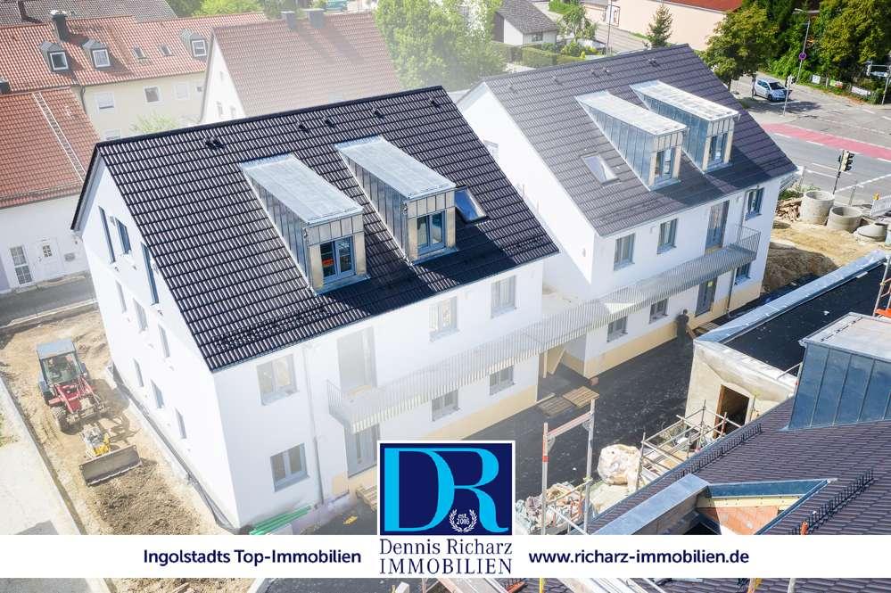 Nur noch 1 verfügbar! Neubau Penthouse 3-Zi-Whg im Süden inkl. Küche! in Südwest (Ingolstadt)