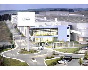 Modernes Produktionsgebäude - Industriegebiet Ost, Freiberg (Sachsen) in Hilbersdorf