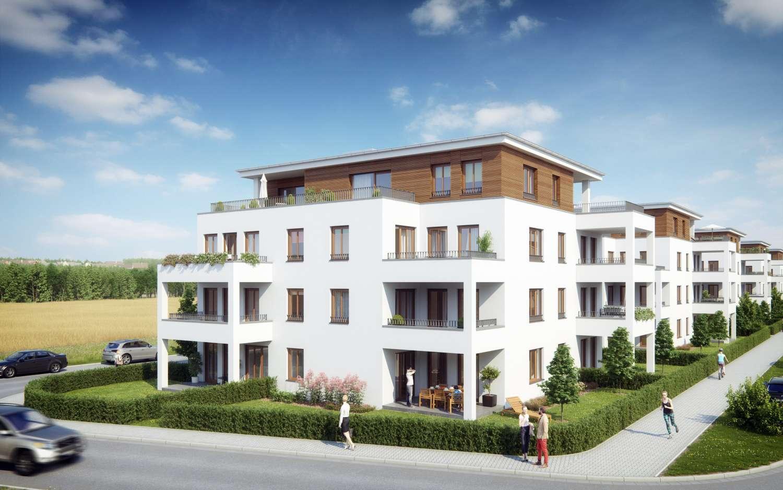 3-Zimmer-Neubauwohnung in den Stadtvillen Neutraubling-Heising mit Süd-West-Balkon
