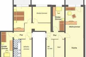 6 Zimmer Wohnung in Gera