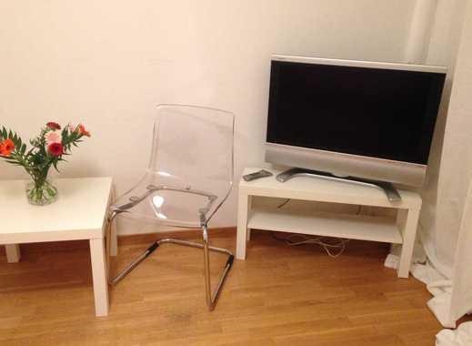 Stilvolle, geräumige 1-Zimmer-Wohnung mit Balkon in Mannheim
