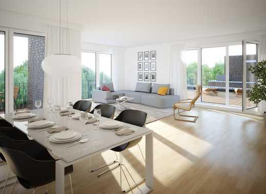 Exklusives Penthouse mit großer Dachterrasse und Loggia - Erstbezug im Seelhorster Garten!