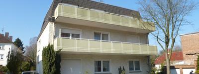 Helle 3 Zimmer-Wohnung mit Balkon und Stellplatz in Bad Oeynhausen-Zentrum
