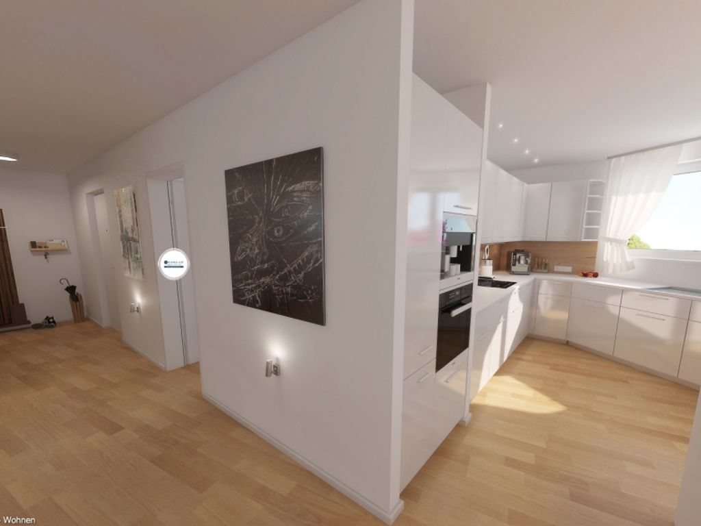 360 Grad Immobilienrundgang**Neubau-Erstbezug**Modernes Wohnen nähe ...