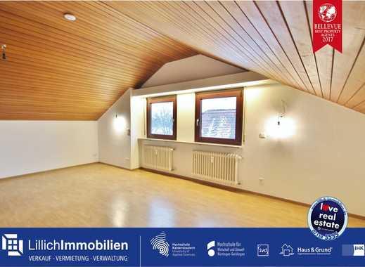 Gemütliche Dachgeschoss-Wohnung in ruhiger Wohnlage