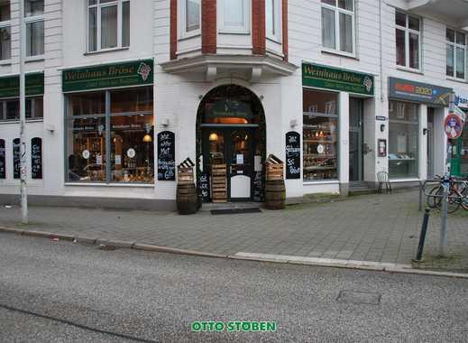 OTTO STÖBEN! Historische Ladenfläche in Ecklage Citynah in Kiel zu vermieten!