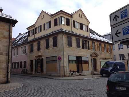 Geschmackvolle 1-Raum-DG-Wohnung mit Balkon und Einbauküche Bayreuth in City (Bayreuth)