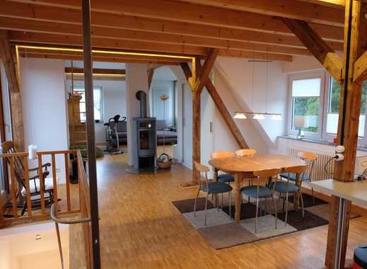 Sehr schöne und lichtdurchflutete Loftwohnung mit zwei Balkonen/Dachterassen