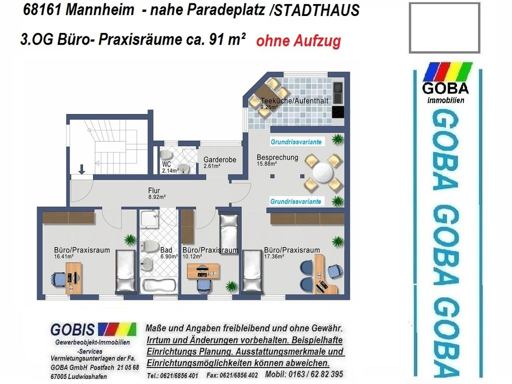 2016 3.OG 91 m²