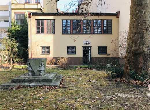 Attraktive Büro- od. Praxisfläche - auch als Privatwohnung nutzbar - mit Garten nahe Potsdamer Platz