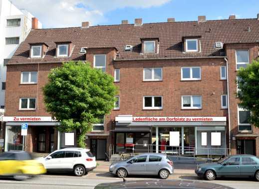 HH-Bramfeld, Bramfelder Dorfplatz: Ladenfläche inkl. Tresorraum 159 m² sowie 60 m² Nebenflächen