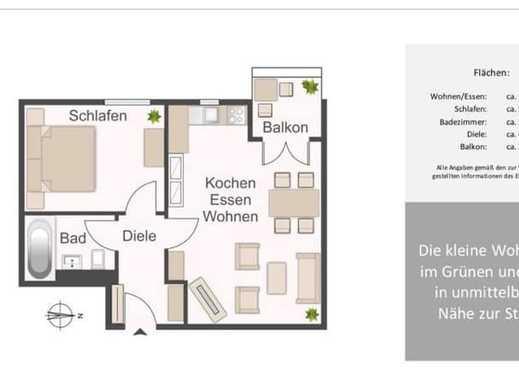 690 €, 38 m², 2 Zimmer