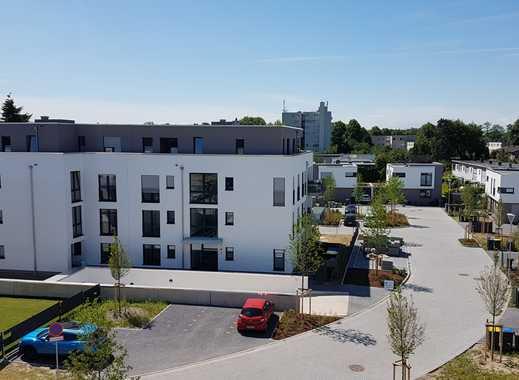 Erstbezug :  exklusive 2,5-Zimmer-Erdgeschosswohnung mit eigenem Garten