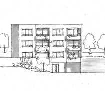 Außergewöhnliche Terrassen-Wohnung mit sonnigem Gartenanteil