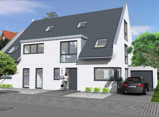 Exklusiv individuell planbar: Moderne Doppelhaushälfte mit 120m² incl. Garage (schlüsselfertig)