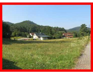 Nähe Bad Bergzabern: Ebener Bauplatz in ruhiger Lage in Erlenbach bei Dahn