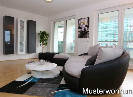 Helle Erdgeschosswohnung - 3 Zi, 106 qm, Einbauküche und Terrasse