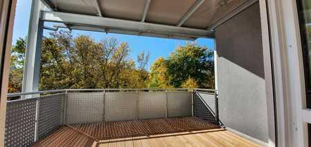 ...Erstbezug - 3-Zimmer-Wohnung mit EBK und 12m² überdachtem Balkon... in Mühldorf am Inn