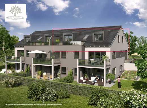 Neubau 3-Zimmer-Dachgeschoßwohnung mit großer Dachterrasse, Aufzug (ohne sommerlichen Hitzestau)