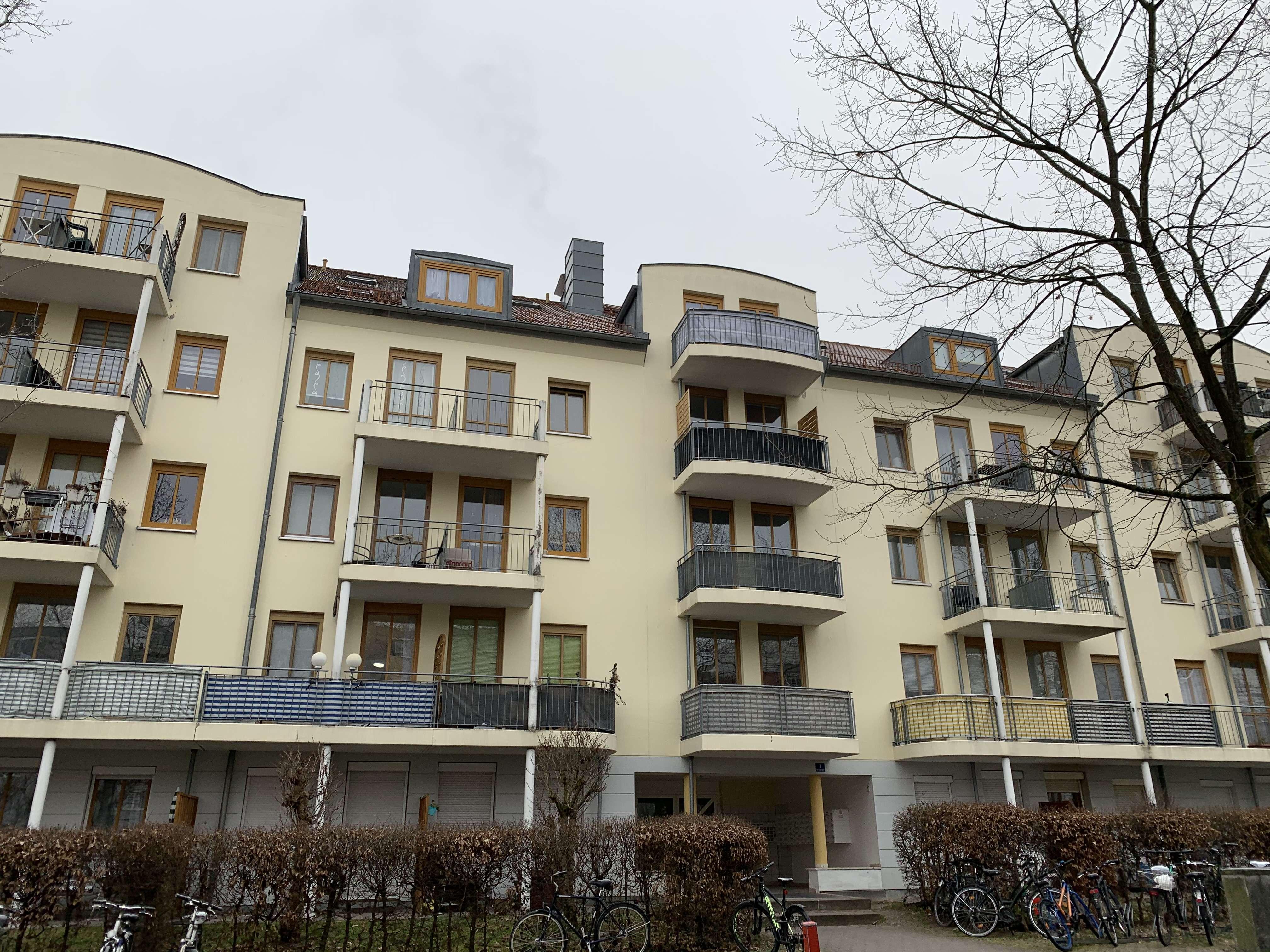 1-Zimmer-Wohnung mit Terrasse in Hammerstatt/St. Georgen/Burg (Bayreuth)