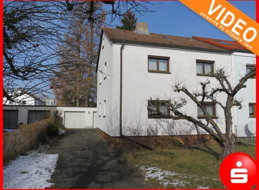 Gepflegte Doppelhaushälfte mit großem Grundstück in Nbg.-Gartenstadt