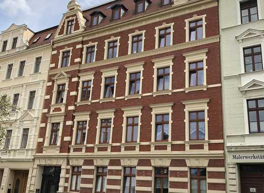 4-Raumwohnung in Rauschwalde: Lift, Gäste-WC, Balkon, Fußbodenheizung, offene Küche & Stellplatz !