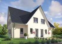 Neu zu bauende Doppelhaushälfte am