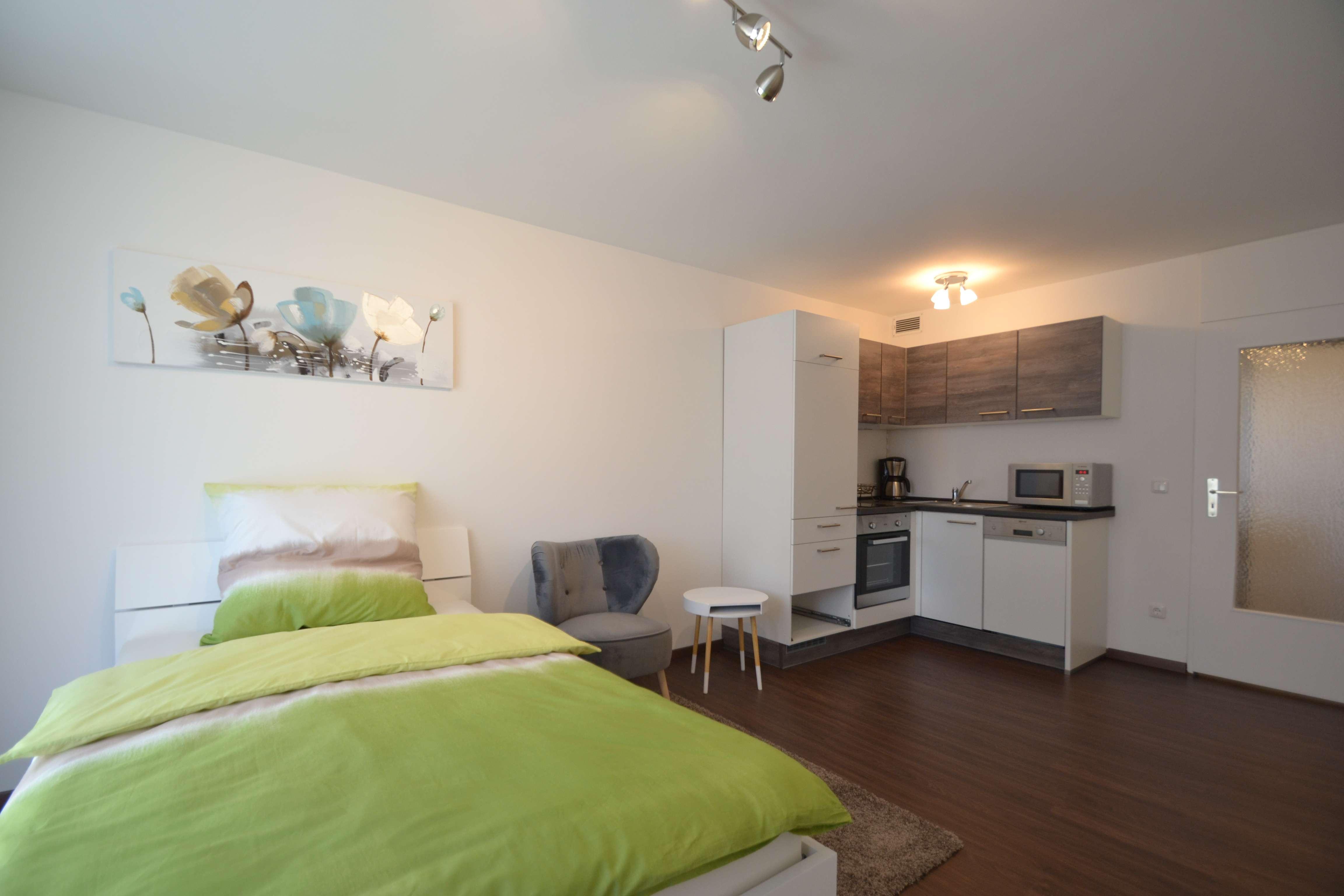 Modernes Apartment - Westbalkon - Vollausstattung - All Inklusive