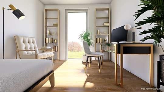 Großzügige Neubau 3-Zi.-Wohnung in BS-Stöckheim mit Garten