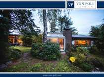 Freistehendes Einfamilienhaus mit eingewachsenem Grundstück