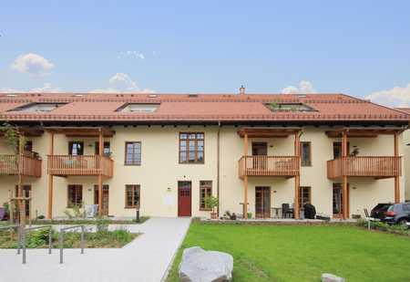 """4 Zimmer- Erdgeschosswohnung in der """"Historischen Fünferpfanne"""" im Zentrum von Traunstein. in Traunstein"""
