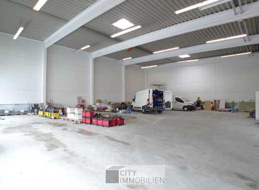 Top! Hallengebäude mit Büroflächen - verkehrsgünstig  am Hafen Nürnberg gelegen