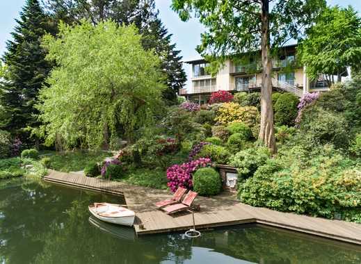 Traumhafter Park mit Villa und Badesee am Südhang des Wiehengebirges