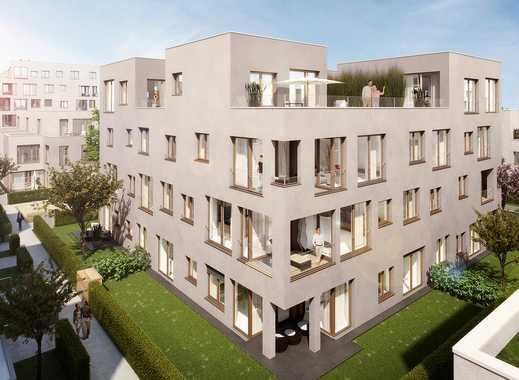 Familienglück in exklusiver 5-Zimmer-Gartenwohnung mit zwei Bädern und großem 73 m² Garten