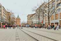 Kernsanierte Ladenflächen in der Mannheimer