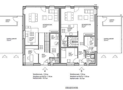 Baugrundstück inkl. Schlüsselfertigem Haus