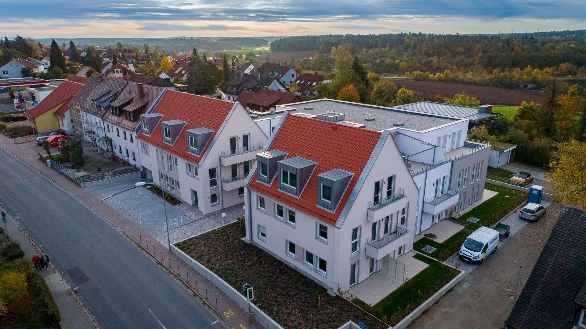 Moderne Neubauwohnung in Heilsbronn in