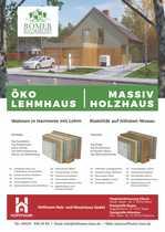 nach Abriss Römer Öko-Lehm-Holzhaus Holzmassivhaus
